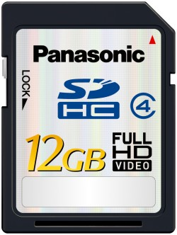 Panasonic HD SDHC 12gb