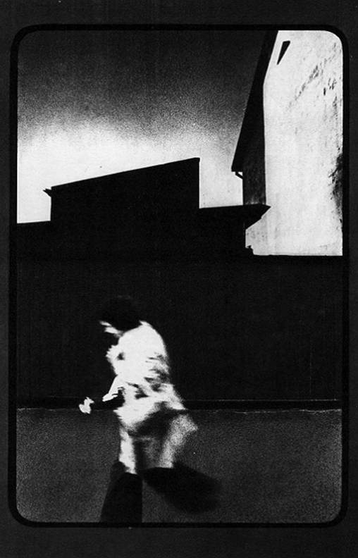 Egons Spuris blurred girl running c 1975