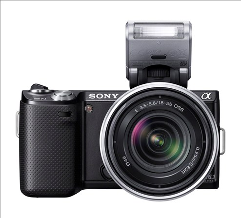 Sony NEX-5N flash