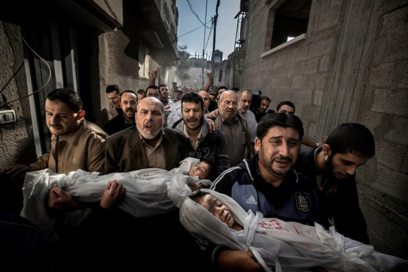 World Press Photo of the Year 2012  Paul Hansen, Sweden, Dagens Nyheter