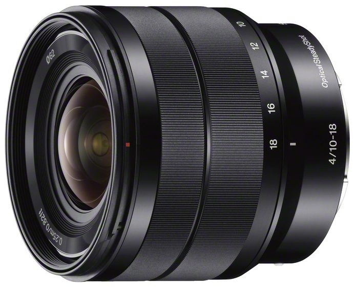 Sony E-mount 10-18mm f/4 OSS