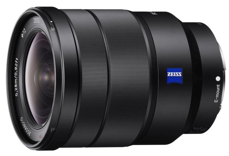 Sony ZEISS 16–35 mm F/4