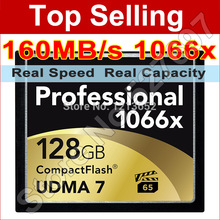 Professional Memory Card CF Card 128GB UDMA 7 1066x Compact Flash