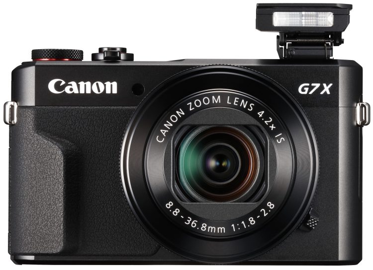 PowerShot G7 X Mark II Flash Up