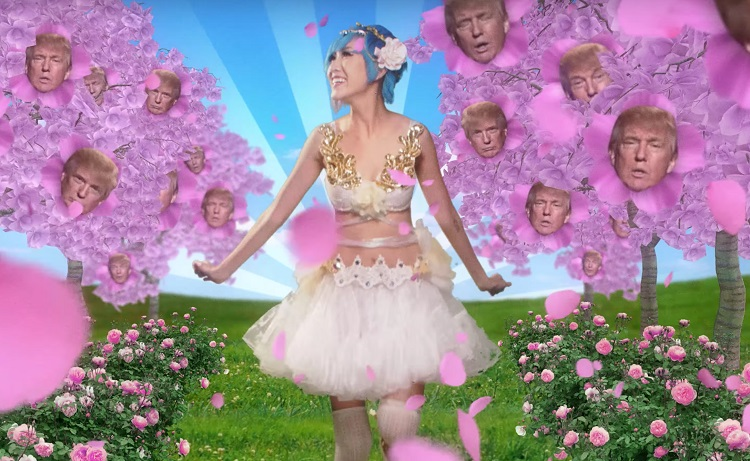 Mike Diva Japanese Donald Trump commercial 2016